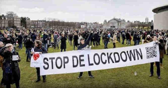 Protestai Nyderlanduose