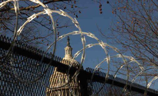 Prieš Džo Baideno inauguraciją Vašingtonas sustiprintai militarizuojamas