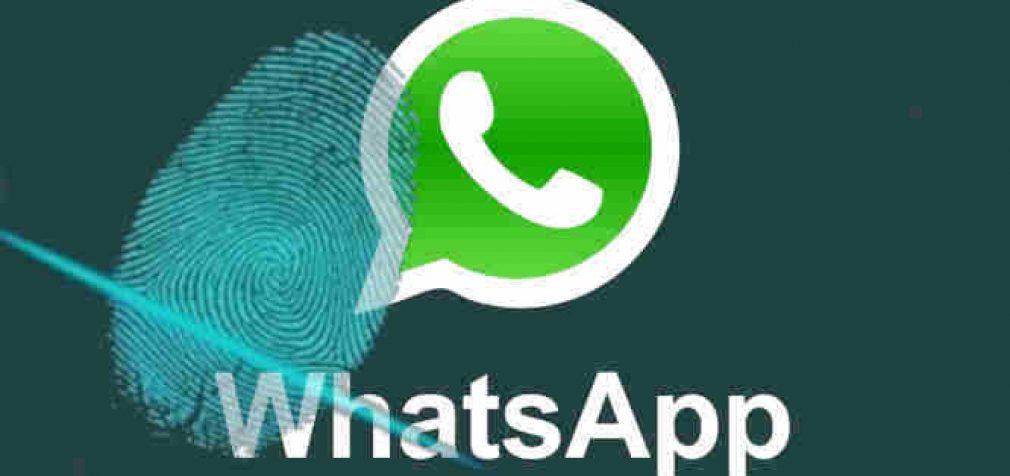 """""""WhatsApp"""" saugumo planai šokiruoja naudotojus. Darbalaukio versijai reikalingas piršto antspaudas"""