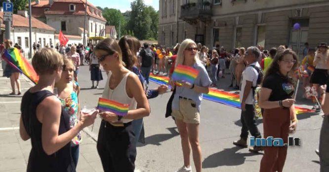 Baltic Pride Vilniuje 2019 - dauguma vaikų
