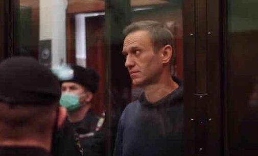 Navalnui skirta reali laisvės atėmimo bausmė