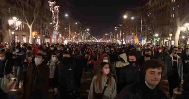Demonstracija Ispanijoje
