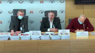 """Spaudos konferencija """"Dėl Seimo Žmogaus teisių komiteto pirmininko T. Raskevičiaus atstatydinimo"""""""