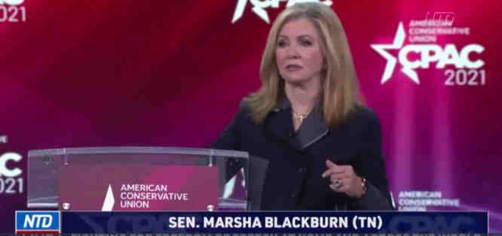 JAV senatorė įsitikinusi, kad didžiosios technologijų kompanijos padeda Kinijai jos globalaus dominavimo siekyje