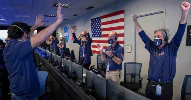 Pergalė NASA