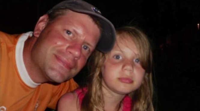 Kanadietis tėvas su savo dukterimi dar iki pasikeitimų