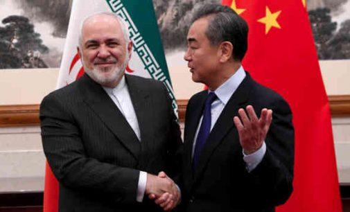 Sankcijos? Iranas ir Kinija sudaro susitarimą dėl strateginės partnerystės