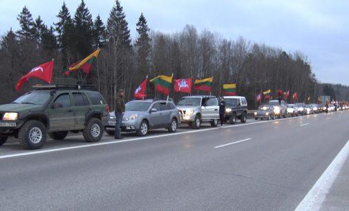 Kovo 11-osios važiuotynės Vilniuje surinko rekordinį automobilių skaičių