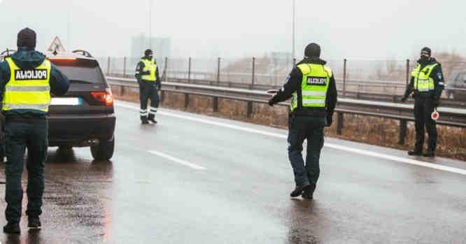 Policijos užkardos