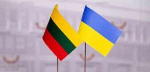 Lietuva ir Ukraina paskelbė bendrą pareiškimą smerkiantį Rusijos agresiją