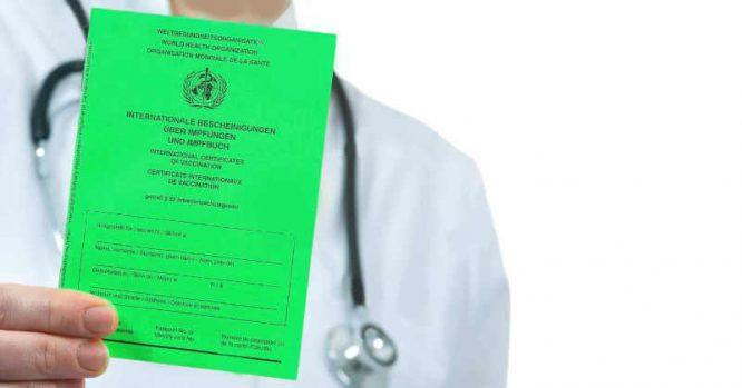 Vakcinavimo sertifikatas