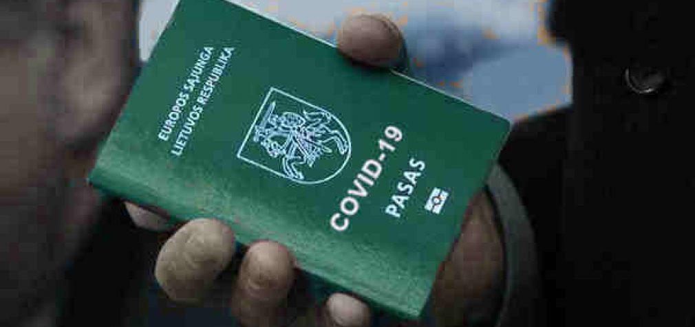 PSO pasisako prieš žaliuosius COVID-19 pasus