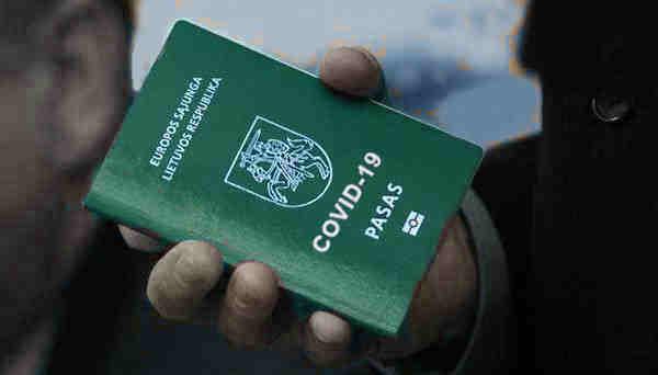 Žalias Covid-19 paso pavyzdys