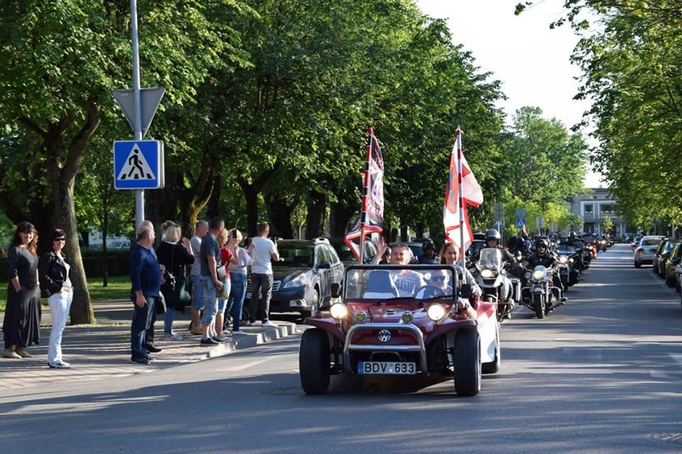 Žemaitijos baikeriai Vilniuje