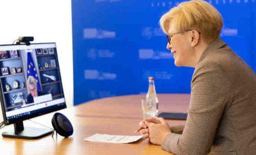I. Šimonytė norėtų pradėti gaminti vakcinas Lietuvoje