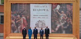 Lietuvos, Lenkijos, Estijos, Latvijos ir Ukrainos Prezidentai pasirašė bendrą deklaraciją