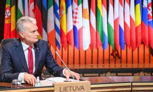 Prezidentas dalyvaus EVT susitikime Briuselyje, kur, tame tarpe, kalbės apie Astravo AE ir Minske priverstinai nutupdytą lėktuvą