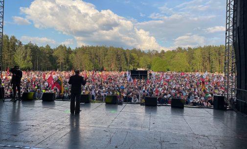 """Visos kalbos apie pažeidimus """"Didžiojo Šeimos Gynimo Maršo 2021″ metu, pasirodė melas – policijos atsakymas"""