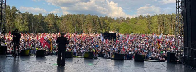 """""""Didysis Šeimos Gynimo Maršas 2021"""" startavo ir tęsis toliau – įgarsinti reikalavimai aukščiausiai šalies vadovybei"""