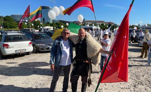 Arvydas Daunys. Trys protesto dienos prie Seimo – birželio 15-16-17 d. – mus daug ko išmokė