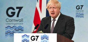 G7 skirs milijardą dozių vakcinų skurdžioms šalims