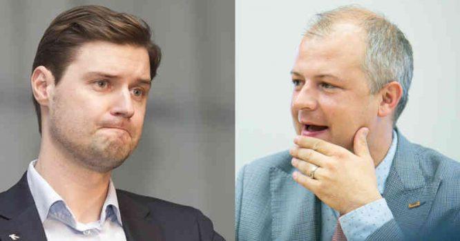 Simonas Gentvilas ir Mykolas Majauskas
