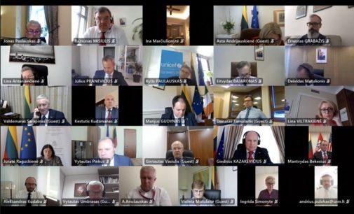 I. Šimonytė akcentavo, kad nelegali migracija ir vis blogėjanti žmogaus teisių padėtis Baltarusijoje ir Rusijoje kelia naujų iššūkių Lietuvai.