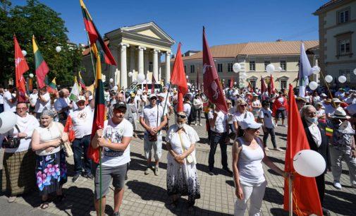 Teismas: Vilniaus mero R.Šimašiaus administracijos sprendimas neleisti Birželio 15-17 mitingo – neteisėtas