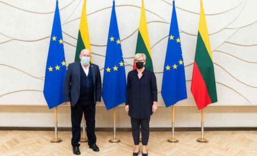 Nuo 1990-ųjų sugriovusi 57% savo pramonės pajėgumų Lietuva žengia žaliuoju kursu, skelbia I.Šimonytė