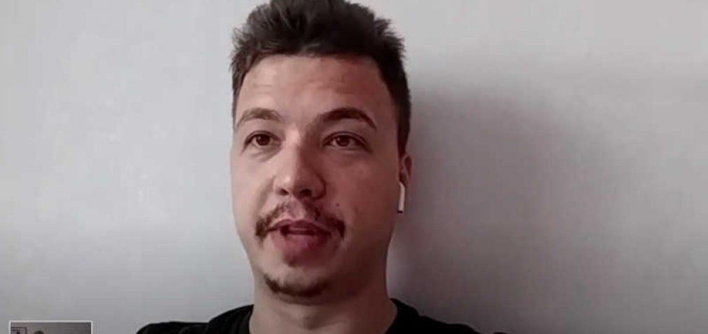 Už šnipinėjimą nuteisto Algirdo Paleckio interviu su buvusiu NEXTA redaktoriumi Romanu Protasevičiumi