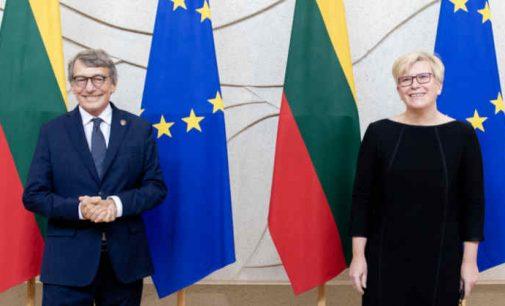I. Šimonytė kalbėjo apie totalitarinį režimą Baltarusijoje, palaikant jos opoziciją