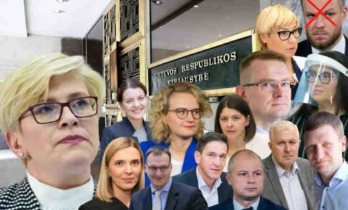 Varšuvoje vyks bendras Lietuvos ir Lenkijos vyriausybių posėdis. Gabrielius Landsbergis nedalyvaus