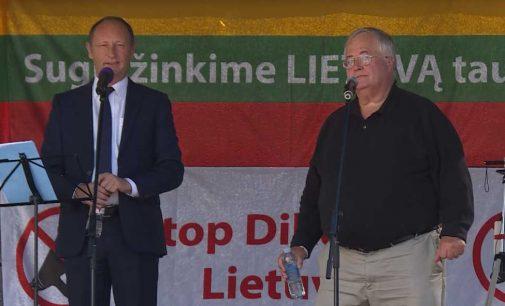 LŠS organizuotame rugsėjo 10 d. mitinge kalba Austrijos Laisvės partijos narys Axel Kassegger (video)