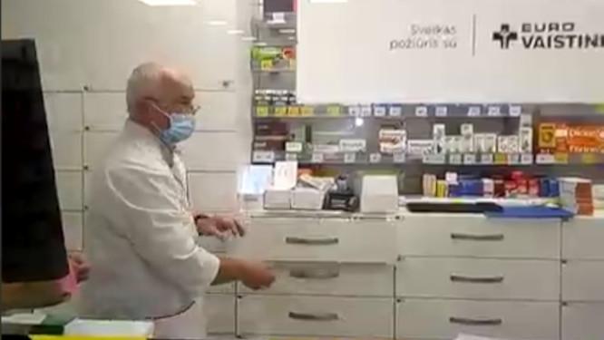 Euro vaistinėje tėčiui neparduoda vaistų, išrašytų vaikui
