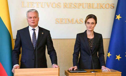 Prezidentas susitiko su Seimo valdybos nariais ir pristatė naujus įstatymų projektus