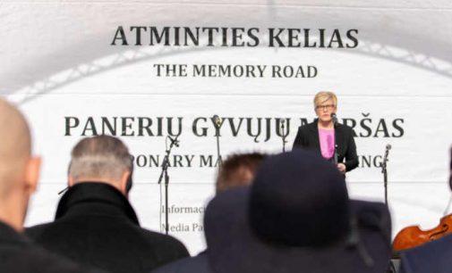 I.Šimonytė: Holokaustas buvo beprotystės laikai, neturintys nieko bendra su dabartimi