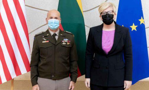 I.Šimonytė: JAV karinis buvimas Lietuvoje – viso regiono saugumo garantas