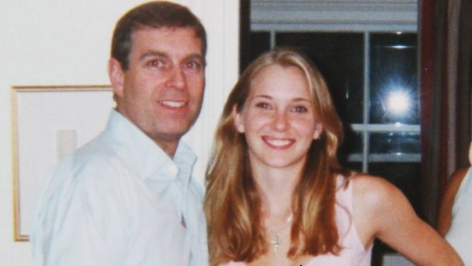 Princas Endriu ir Virginia Giuffre