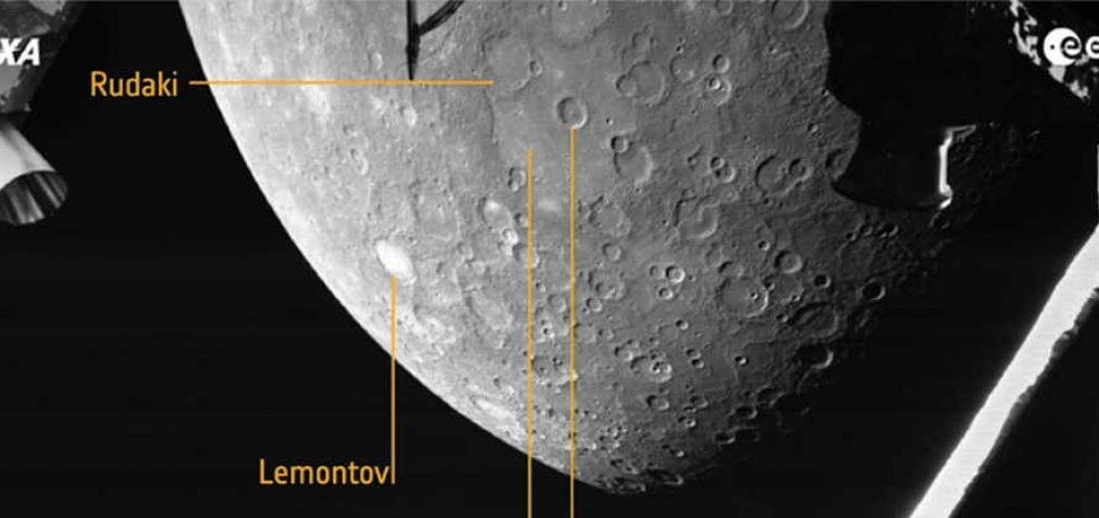 Į Žemę perduota pirma Merkurijaus nuotrauka iš 2400 km atstumo