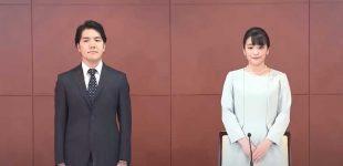 Japonijos princesė ištekėjo už paprasto žmogaus, japonai protestuodami išėjo į gatves